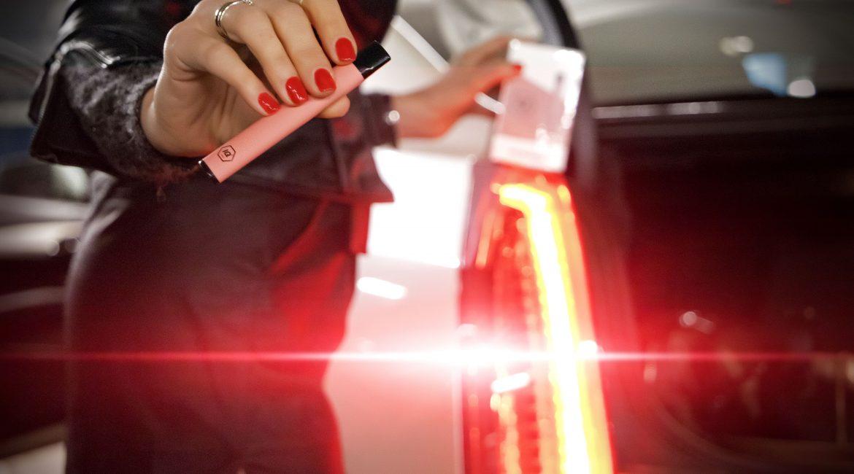 снимка на вейпинг устройство IQ Vape